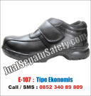 E.107 Sepatu Safety Shoes PALING MURAH Grosir