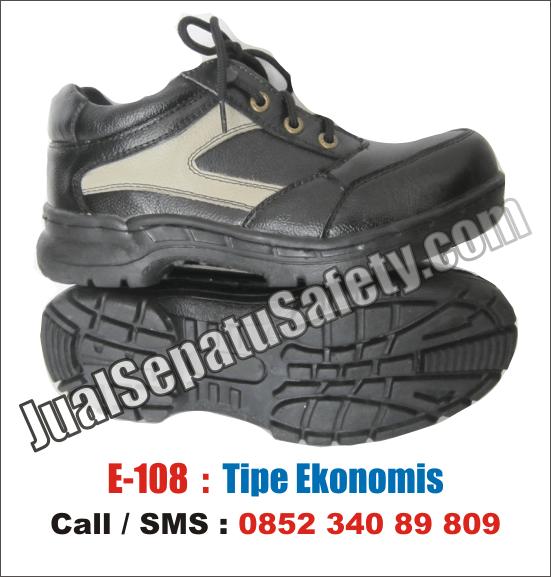 E.108 Sepatu Safety Murah LOKAL EKONOMIS
