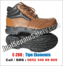 E-208 Sepatu Safety MURAH Terbaru Middle Boot CHEETAH Look