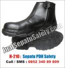 H-210 Sepatu PDH Safety Shoes Murah Untuk Dinas Harian