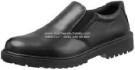 KJ 424 X, KINGS Safety Shoes Pendek Tanpa Tali Slip On Kulit