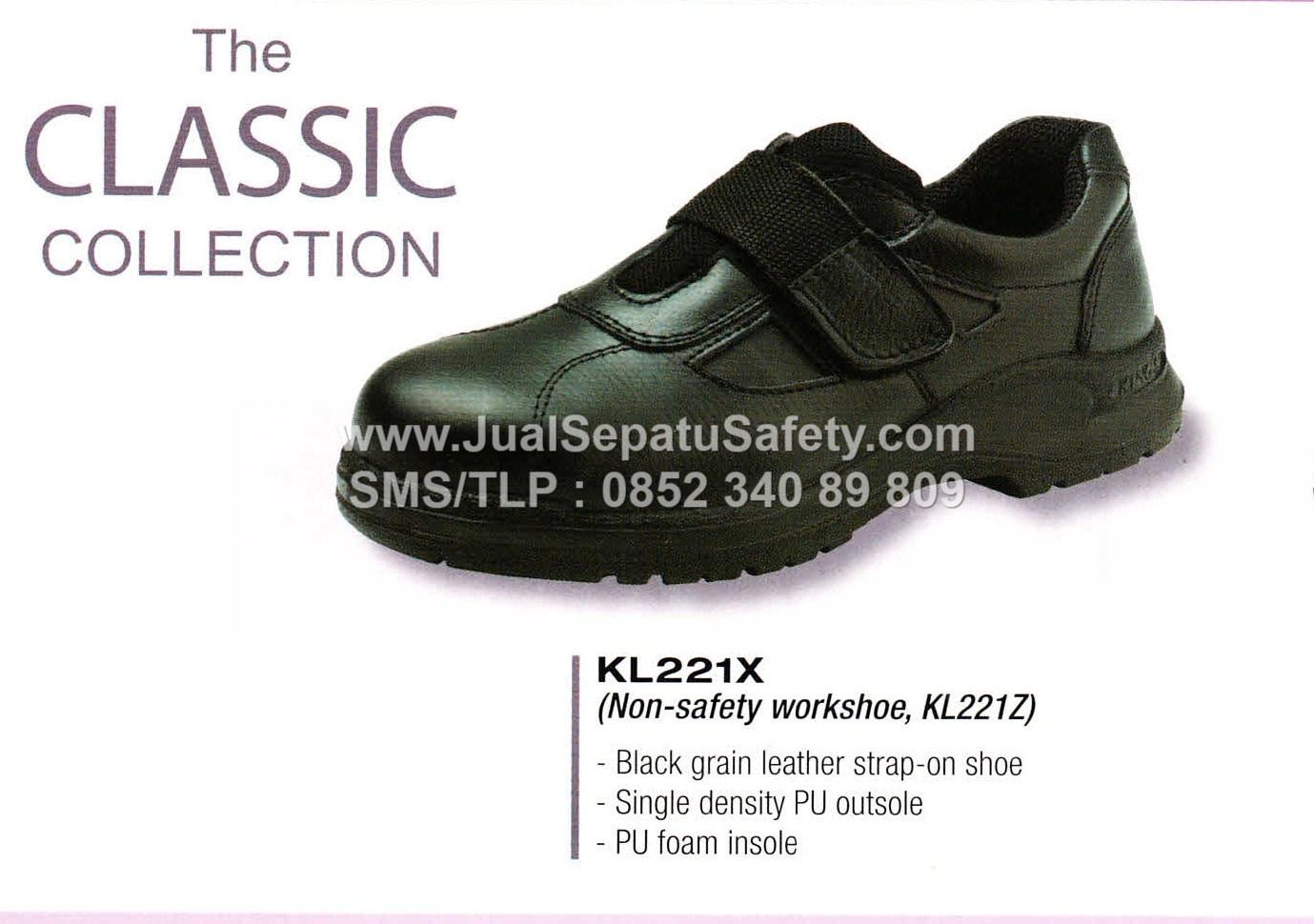 KL 221 X Sepatu Safety KINGS Shoes Wanita Ladies