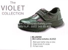 KL 225 X, Sepatu Safety KING'S Shoes Ladies Tanpa Tali Berperekat