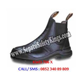 KWD 706 X Sepatu Kings Elastic Samping