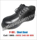 P.101 Sepatu Safety Pendek Bertali Harga MURAH Grosir Online Jakarta Bandung Surabaya Semarang