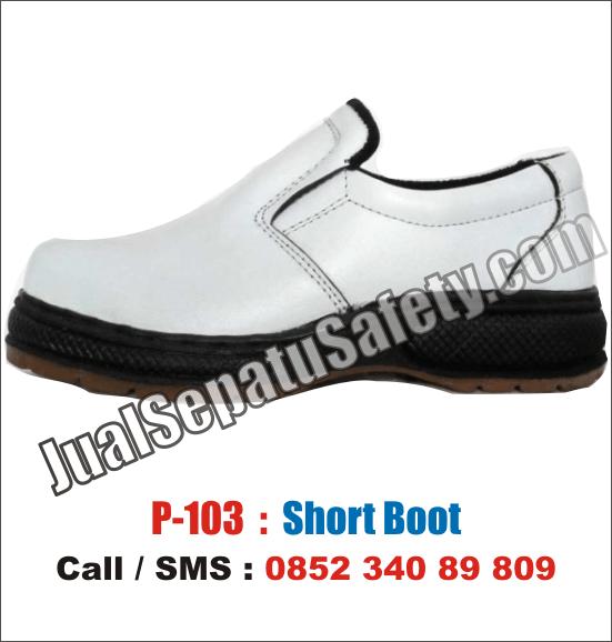 P-103 Sepatu Safety Shoes Wanita Kitchen Murah, HP: 0852 340 89 809.
