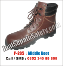 P-205 Sepatu Safety Shoes CATERPILLAR Look TERMURAH