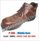 P-206 Sepatu Safety TRENDY Murah Lokal Terbaru