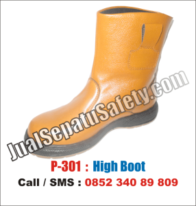 P.301 Sepatu Safety Shoes BOOTS Lokal MURAH