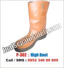P-302 Sepatu High BOOTS Safety TERMURAH Untuk Proyek