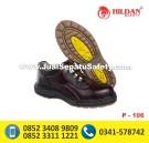P-106 Sepatu Safety Shoes Pendek Harga Terjangkau Pakai TALI Trendy