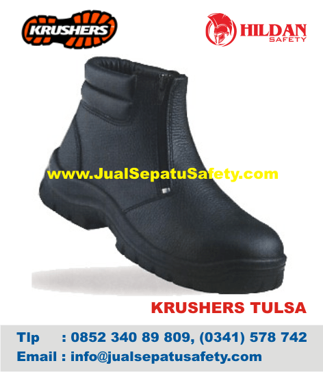 Sepatu Safety Online Krushers TULSA Beli Satuan