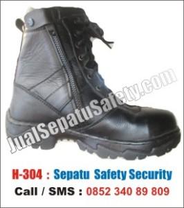 Sepatu Safety Satpam Security Satpol PP Murah, H-304