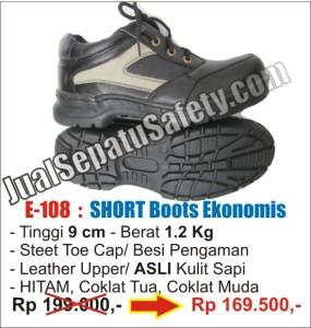Sepatu safety shoes Harga MURAH, E-108