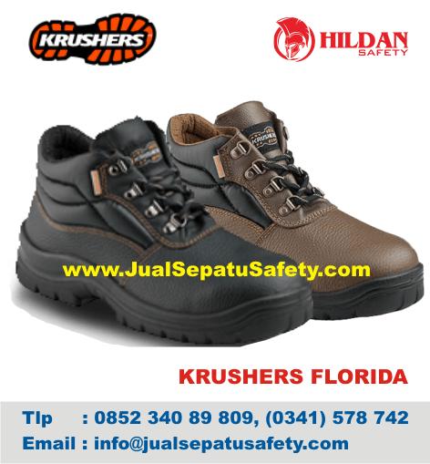 Toko Sepatu Safety Krushers FLORIDA-JUNEE Kota MALANG