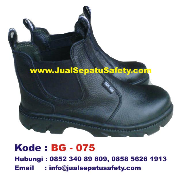 BG-075, Sepatu Safety BOY GIE Harga Grosir Murah, HP.0852 340 89 809