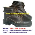 BG-085 COKLAT, Harga Sepatu Safety Murah Untuk Proyek di Jakarta Balikpapan Bekasi