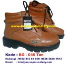BG-085 TAN, Pabrik Sepatu Safety Shoes Grosir Surabaya Malang Jakarta