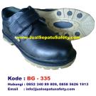 BG-335, Sepatu Safety Pendek Berperekat Kulit Asli