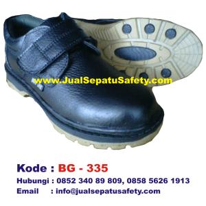 BG-335, Jual Safety Shoes BOY GIE Harga Grosir Murah, HP.0852 340 89 809