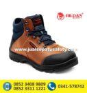 CHEETAH 5101 CB-Sepatu Safety Shoes Coklat Muda
