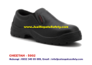 CHEETAH 5002-Sepatu Safety Shoes Pendek Slip On