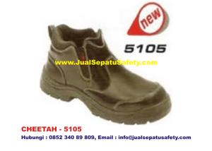 CHEETAH 5105 Sepatu Safety Shoes Semi Boot, HP.0852 340 89 809