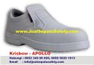 Krisbow Apollo-Sepatu Safety Wanita Warna Putih Pendek