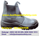 Krisbow Gladiator-Jual Safety Shoes K3 Elastis Tanpa Tali