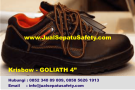 Krisbow Goliath 4″ (4 inch)-Safety Shoes Kulit Pendek Bertali
