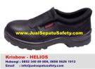 Krisbow Helios-Sepatu Proyek Slip On Tanpa Tali