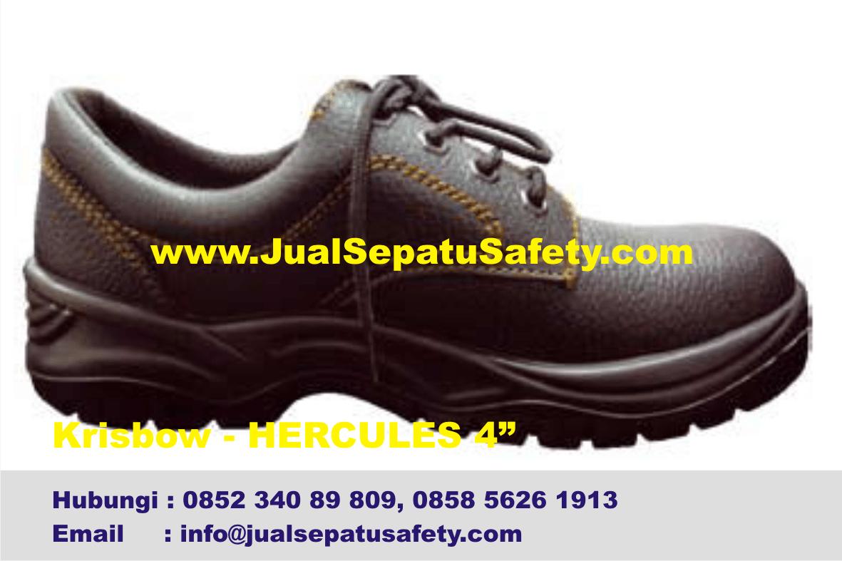 Penyuplai Sepatu Krisbow Hercules 4 Inch HP0852 340 89