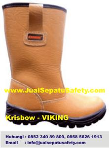 Krisbow Viking-Safety Boot Kuning Muda, HP.0852 340 89 809