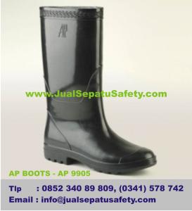 Distributor Sepatu AP BOOTS - AP 9905, sepatu proyek TOL jalan makadam
