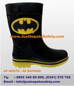 Distributor Sepatu AP BOOTS Kids - AP BATMAN Logo
