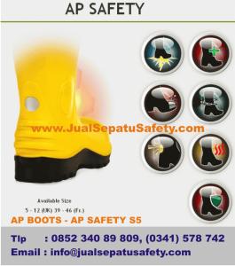 Gambar AP BOOTS Safety Dengan 3M Reflektor Scorlite