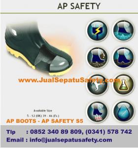 Gambar AP BOOTS Safety Toe Cap