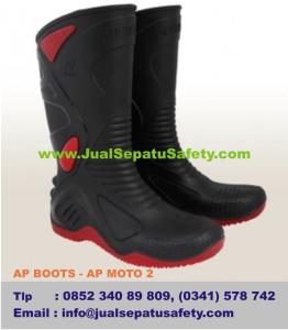 Gambar Sepatu AP BOOTS - AP MOTO 2, Sepatu Rider Terbaru