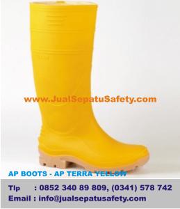 Gambar Sepatu AP BOOTS - AP TERRA YELLOW,Untuk Karyawan Pabrik Produksi Makanan Minuman