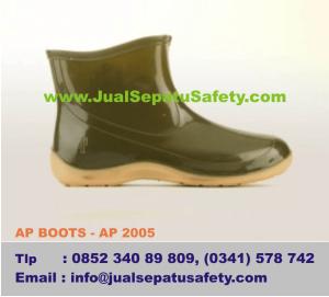 Sepatu Boots WANITA Untuk BERKEBUN Dan Bercocok Tanam