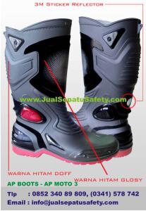 Sepatu AP BOOTS - AP MOTO 3