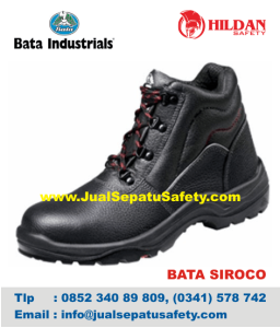 Sepatu Safety Shoes BATA-SIROCO Balikpapan