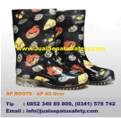 AP BOOTS Anak, Seri AP All Over