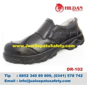 DR 102 - Jual Sepatu Safety Shoes LOKAL Malang, HP.0852 340 89 809