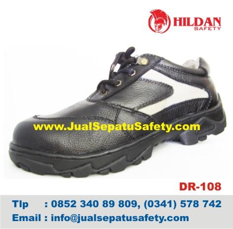 DR 108 - GROSIR Sepatu Safety LOKAL Kulit HARGA MURAH Online, HP.0852 340 89 809