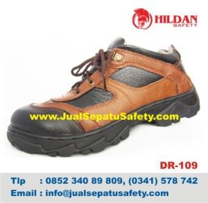 DR 109 - Pabrik Sepatu Safety Produsen LOKAL Kulit MURAH, HP.0852 340 89 809