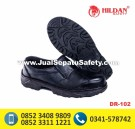 DR 102, Safety Shoes Ekonomis dengan Elastis Samping