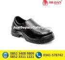 Sepatu Safety Shoes CHEETAH 3001 H Pendek Elastic Slip On
