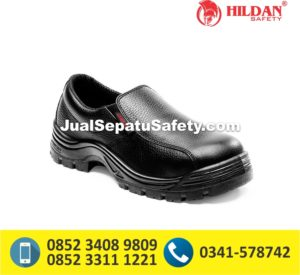 Sepatu Safety Shoes CHEETAH 3001 Pendek Elastic Slip On