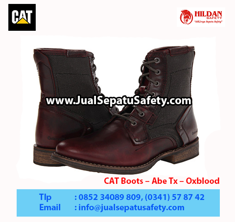 CAT Boots – Abe Tx – Oxblood